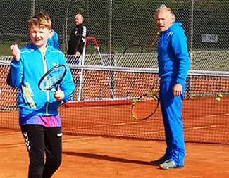 Træningsdag med DGI tennistræner